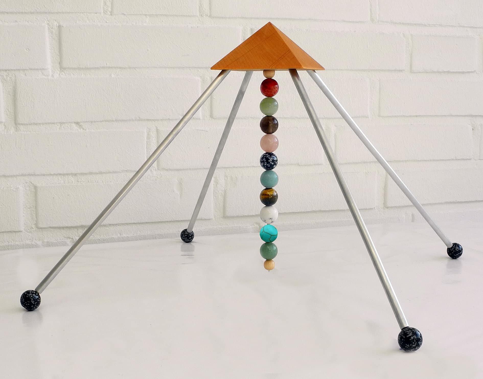 sternzeichen waage pyramide mit allen zehn 16mm steinen die kraft der sternzeichen steine. Black Bedroom Furniture Sets. Home Design Ideas