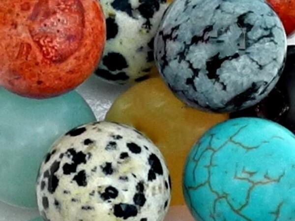 Glück-oder Glückssteine - Monatssteine - Geburtssteine